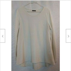 Riani Germany ivory cashmere thin sweater size M